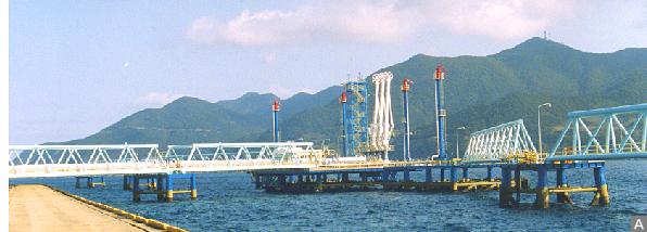 海洋構造物の防食塗装実績(1)