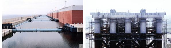海洋構造物の防食塗装実績(2)