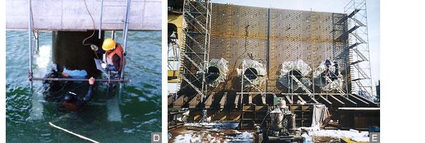 海洋構造物の防食塗装実績(3)